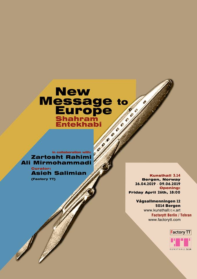 SHAHRAM ENTEKHABI & ASIEH SALIMIAN – 'New Message to Europe'