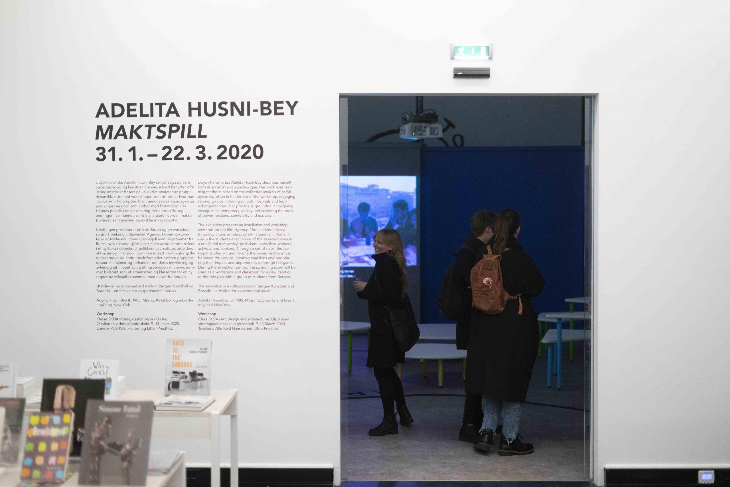 Adelita Husni-Bey  – Maktspill