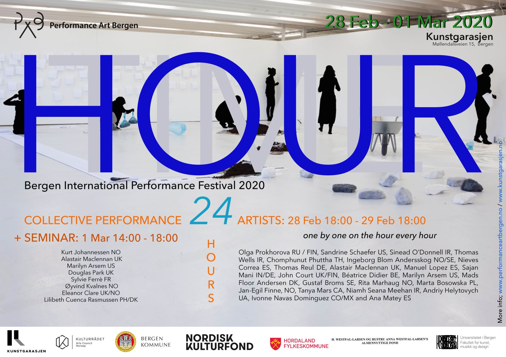 PAB – Performance Art Bergen – HOUR