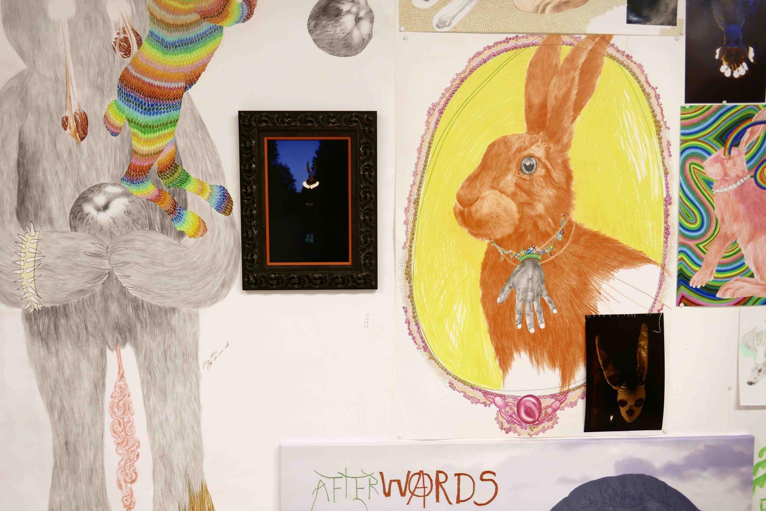 Brynhild Grødeland Winther – Haren: Words are animal traps