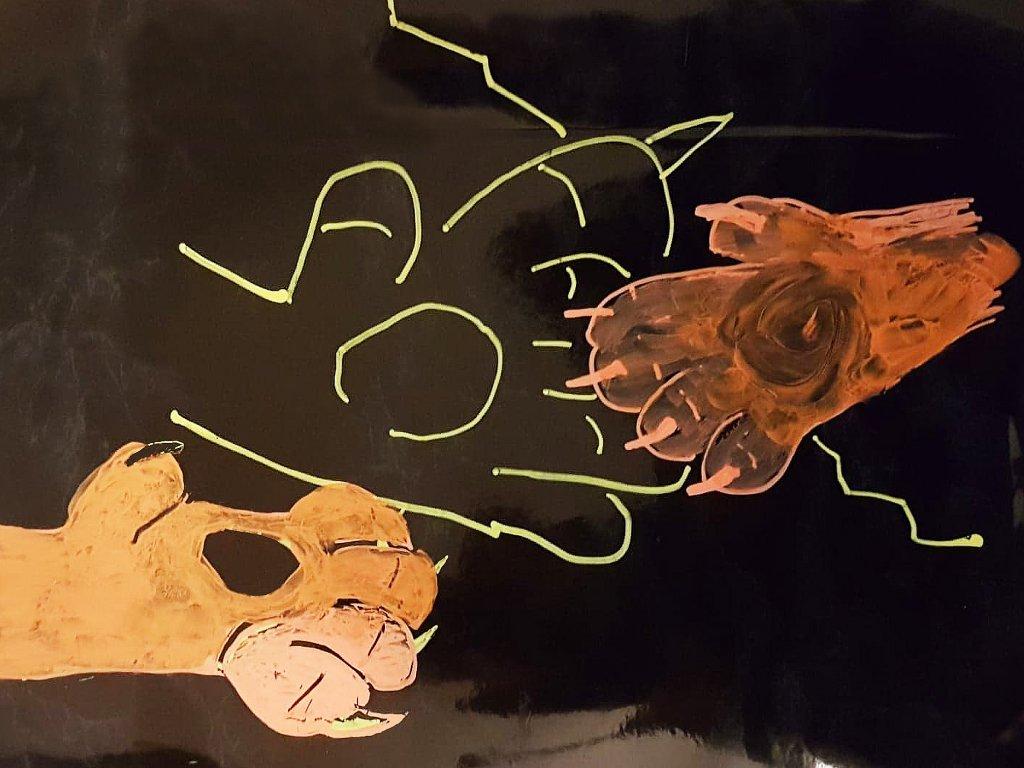 Sara Wolfert – Head Channel & Lion  – Waking of the Sleeping Lion Ear