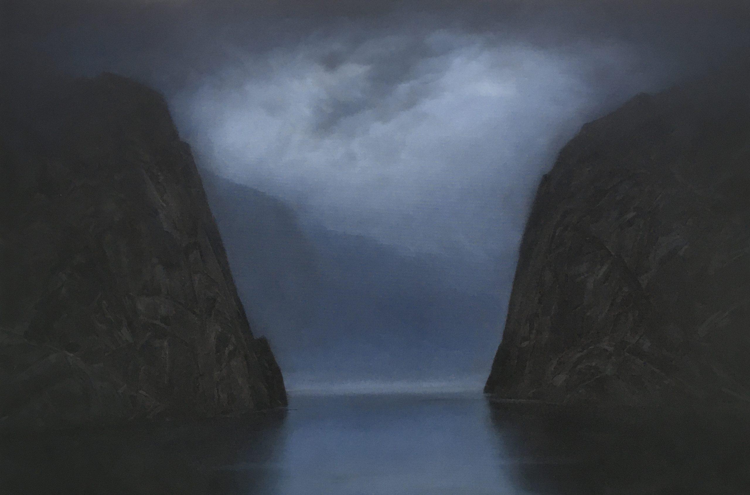 Cristopher Rådlund – Fra Aftenlandet. Maleri, tegning og grafikk